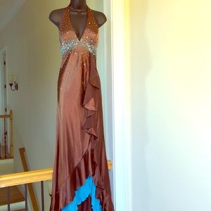 PARTYTIME sz 4 prom formal gown cruise pageant